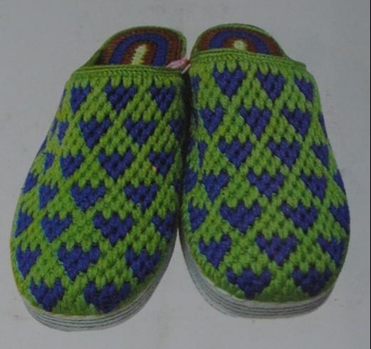 毛线拖鞋的花样图纸_毛线拖鞋的花样图纸图片分享
