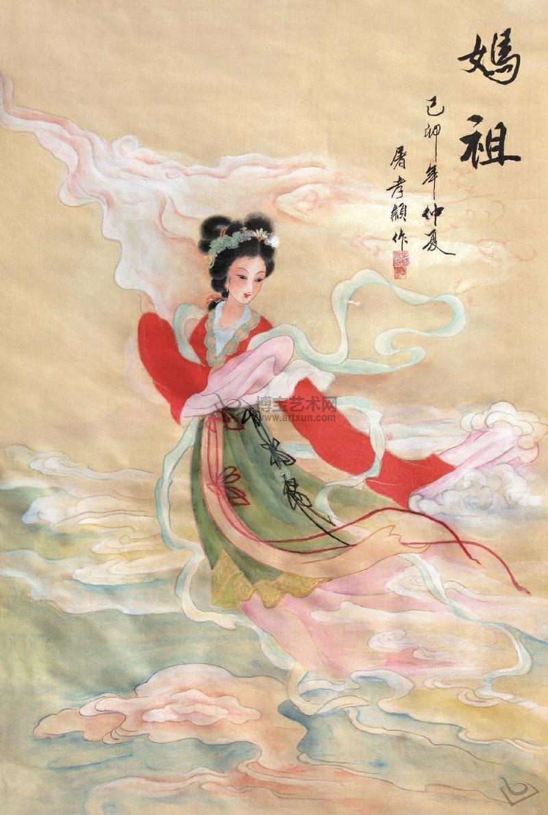 林默娘肉身神像_妈祖图片-7262图片网