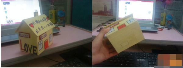 如何diy兒童手工制作小房子方法圖解