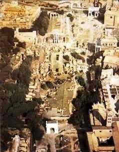 古羅馬城市廣場圖片